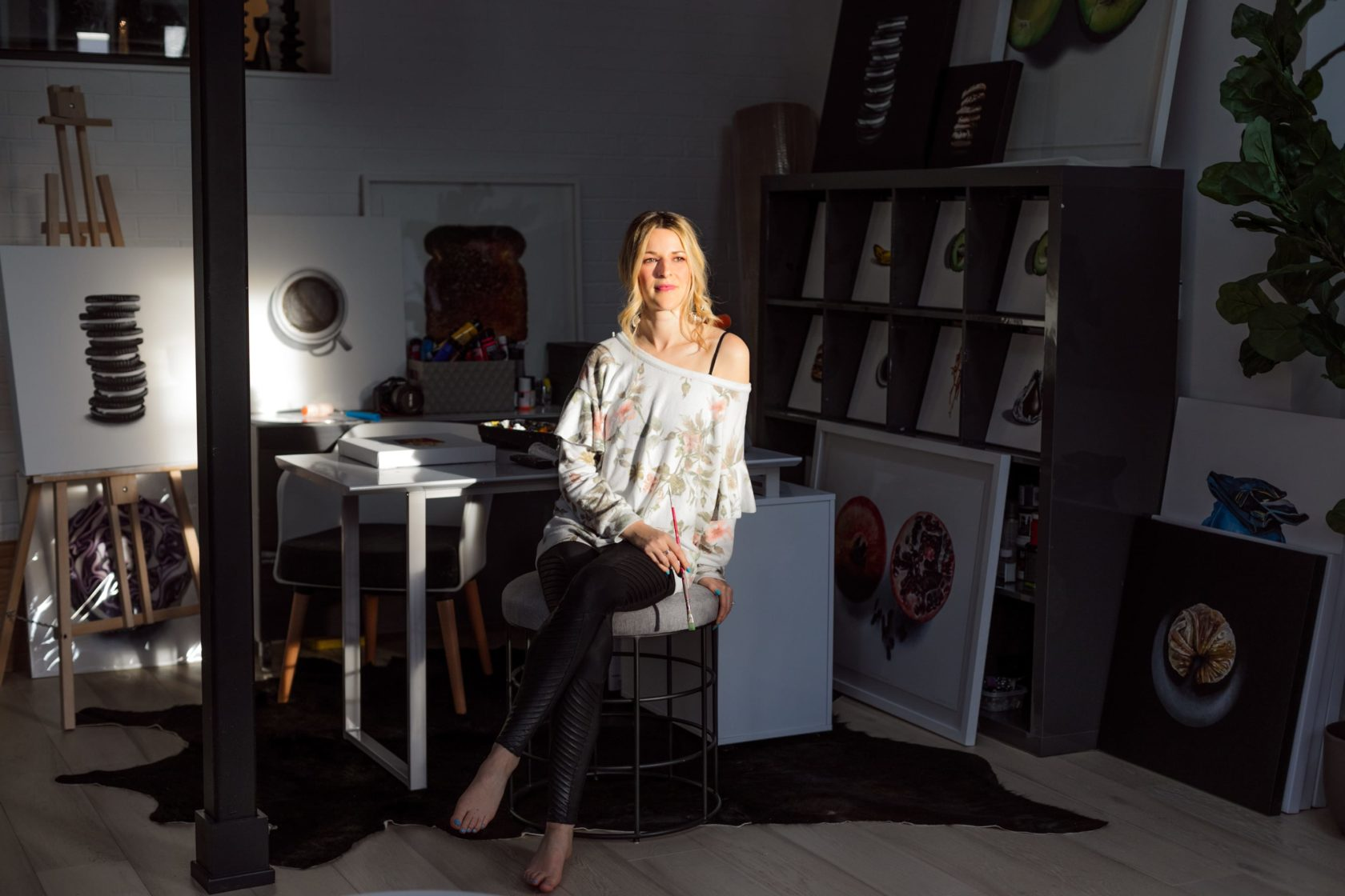 "TorontoLife: ""Live-Work Spaces: Inside the home studio of artist Erin Rothstein"""