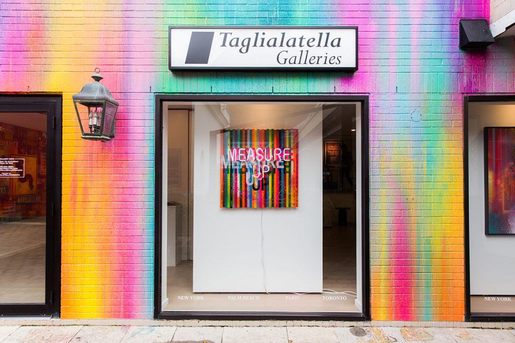 RISK, Mural, Taglialatella Galleries, Toronto, Yorkville, TorontoGuardian, Graffiti