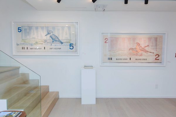 News, Peter Andrew Lusztyk, Taglialatella Galleries, Toronto, Exhibition, Dollar Bills, Five, Two