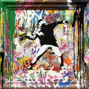Mr. Brainwash, Banksy Thrower,