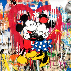 Mr. Brainwash, Mickey and Minnie