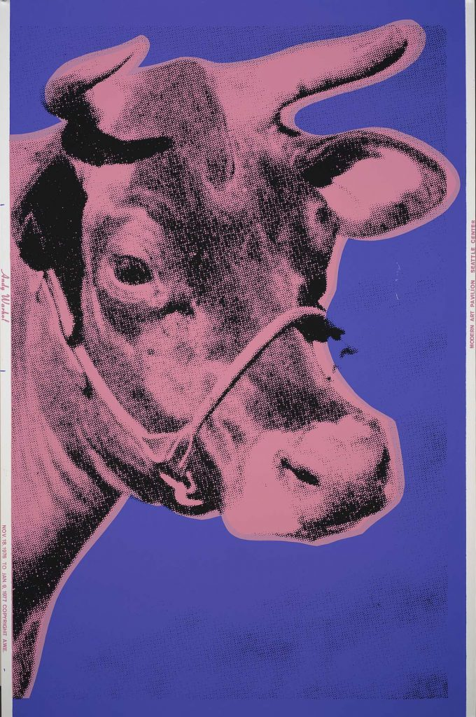 Andy Warhol, Cow 12A
