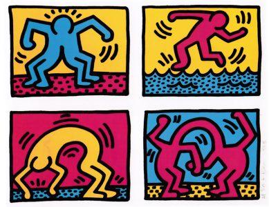 Keith Haring, Pop Shop Quad II