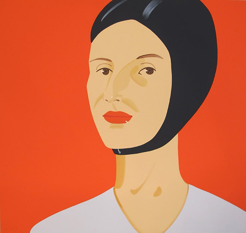 Alex Katz, Bathing Cap, Ada