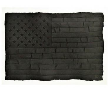 Robert Longo, Black Flag
