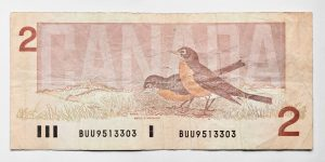 Peter Andrew Lusztyk, Two Dollar Bill (Canada)