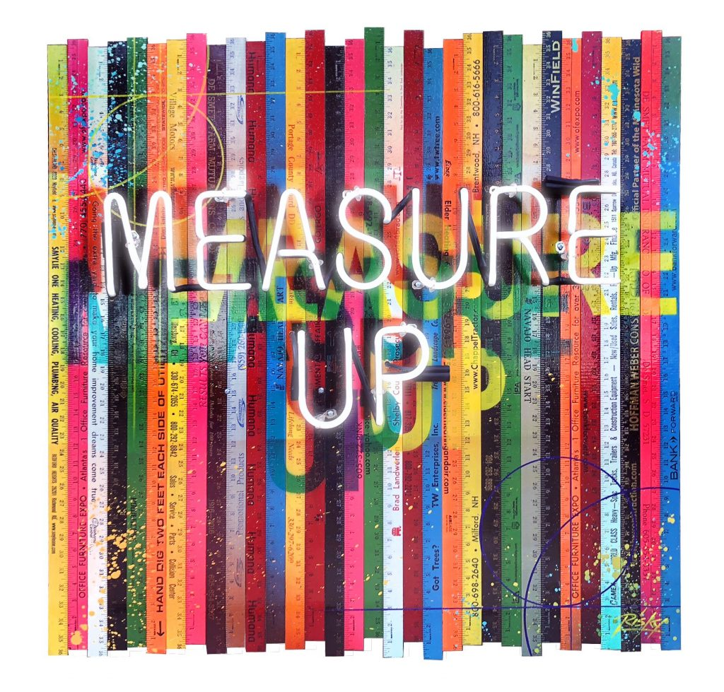 RISK, Measure Up #1 (Neon)
