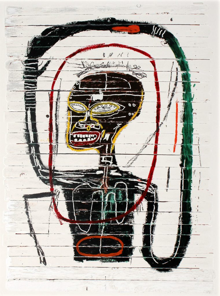 Jean-Michel Basquiat, Flexible, 1984 – 2016
