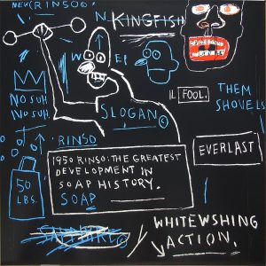 Jean-Michel Basquiat, Rinso, 1982 – 2001