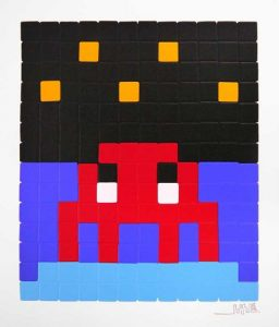 Invader, Space One (Red)