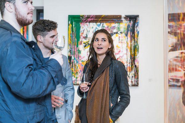 Un-Fancy, Erin Rothstein, Taglialatella Galleries, Toronto, Opening, Exhibition, Mr. Brainwash