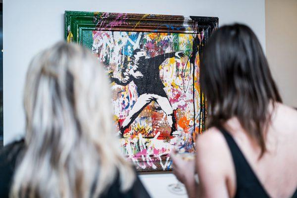 Un-Fancy, Erin Rothstein, Taglialatella Galleries, Toronto, Exhibition, Mr. Brainwash, Banksy