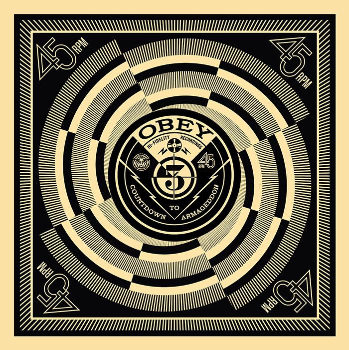 Shepard Fairey, Countdown to Armageddon, 50 Shades of Black Box Set