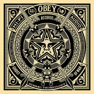 Shepard Fairey, Ghost of War, 50 Shades of Black Box Set