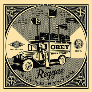 Shepard Fairey, 50 Shades of Black Box Set: Reggae Sound System, 2014