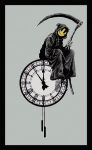 Banksy, Grin Reaper, 2005