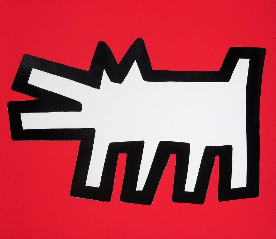 Haring, Barking Dog, Icons (B)