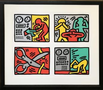 Keith Haring, Pop Shop III Quad