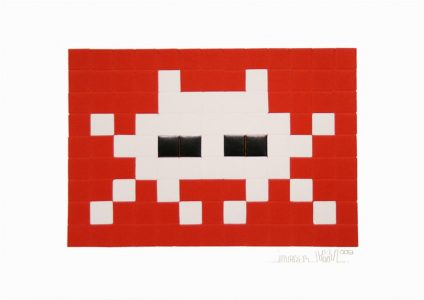 Invader, Invasion (White)