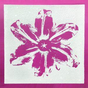 Rubem Robierb, Power Flower Pink on White