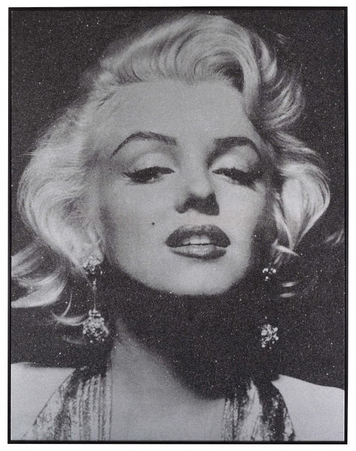 Russell Young, Marilyn Portrait - Silver