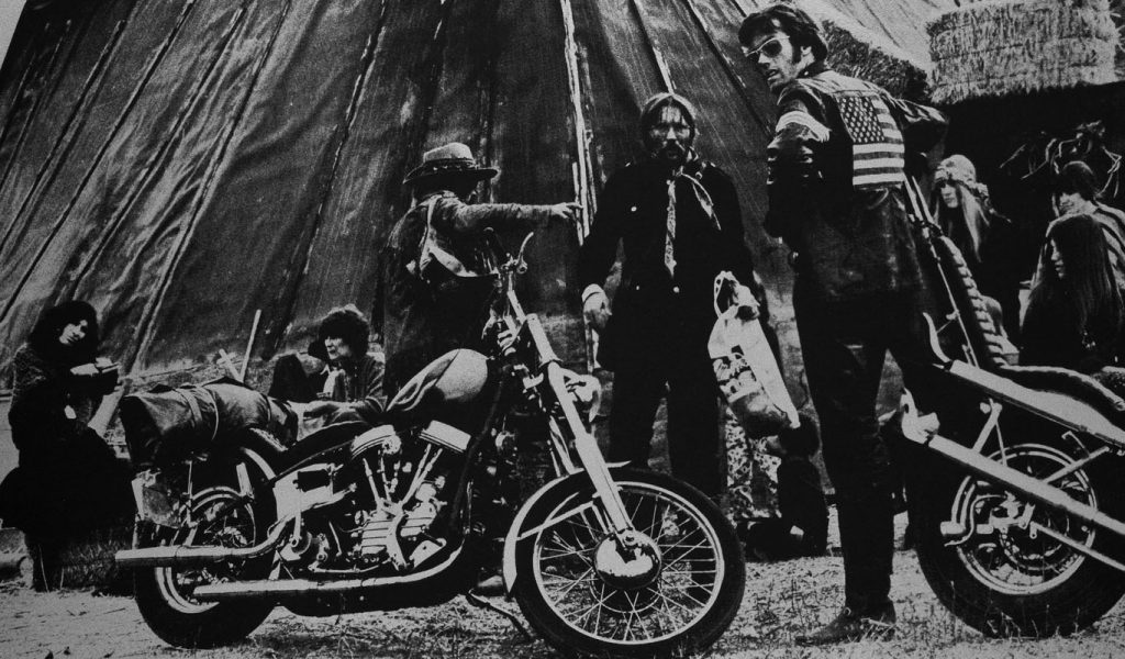 Russell Young, Easy Rider Silver and Black