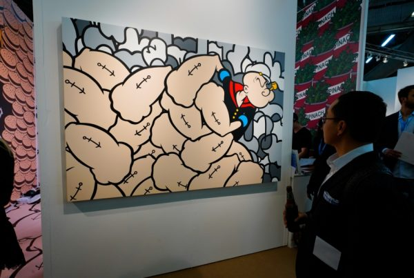 Art New York 2019, Art Fairs, Taglialatella Galleries, New York, Jerkface, Eat Your Spinach