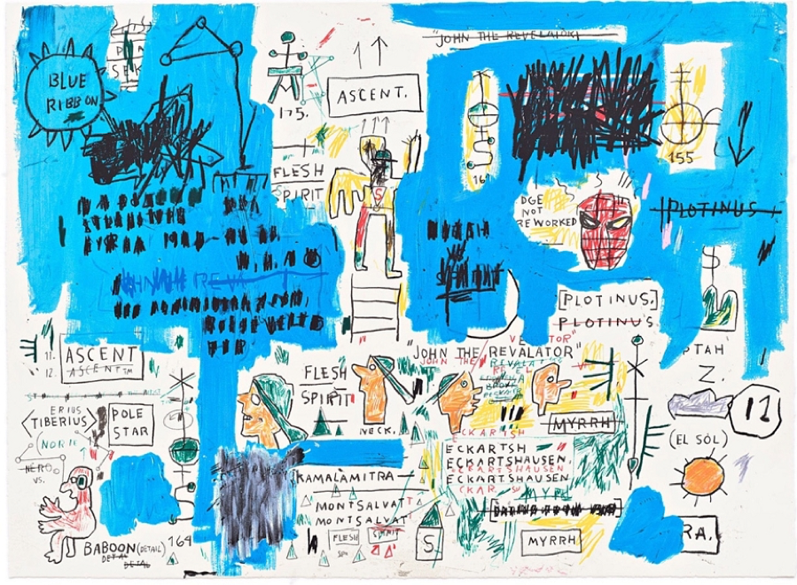Jean-Michel Basquiat, ascent