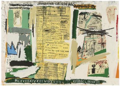 Jean-Michel Basquiat, Jawbone of an Ass