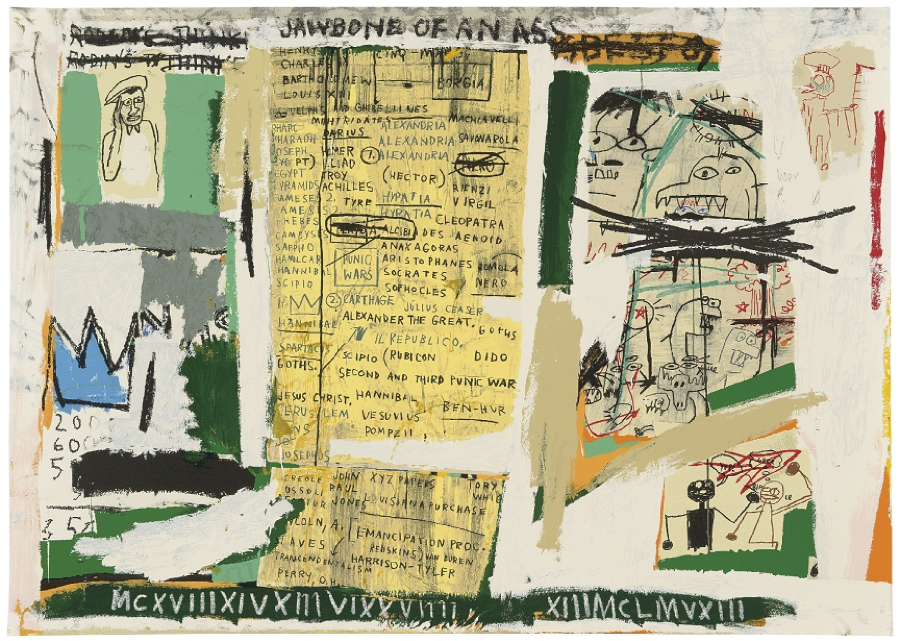 Jean-Michel Basquiat, Jawbone of an Ass