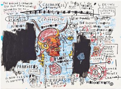 Jean-Michel Basquiat, Leeches