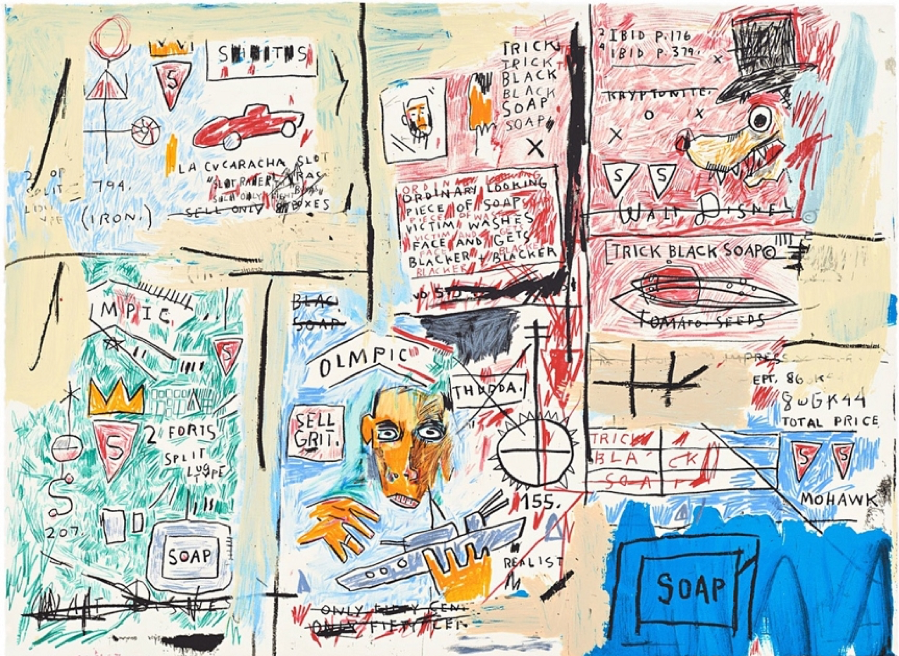 Jean-Michel Basquiat, Olympic