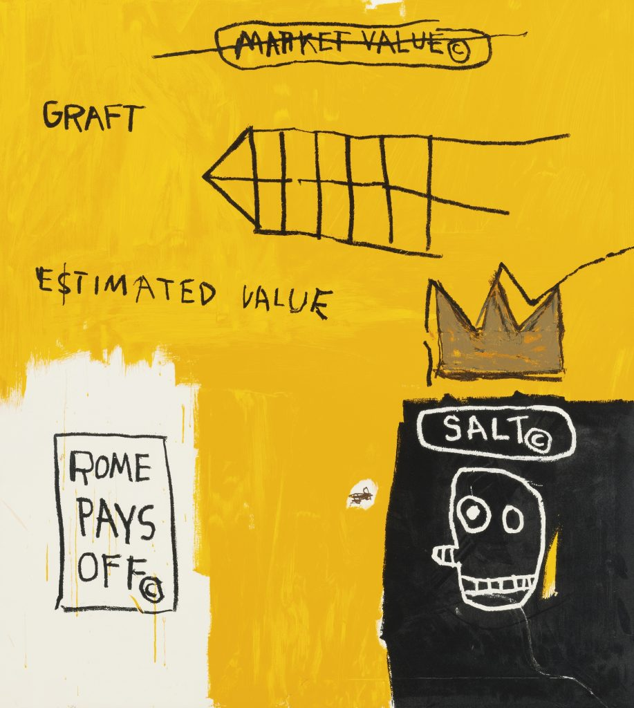 Jean-Michel Basquiat, Rome Pays Off, Set II, 1984-2017