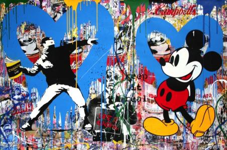 Brainwash, Banksy Throwers & Mickey