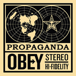 Shepard Fairey, 50 Shades of Black Box Set- Obey Stereo
