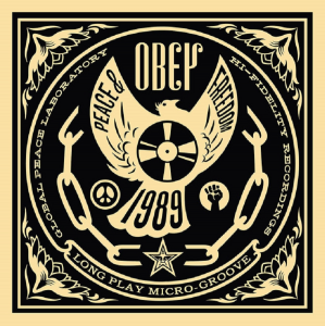 Shepard Fairey, 50 Shades of Black Box Set: Peace and Freedom, 2014