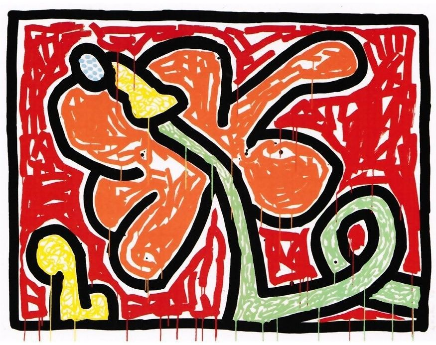 Keith Haring, Flowers V