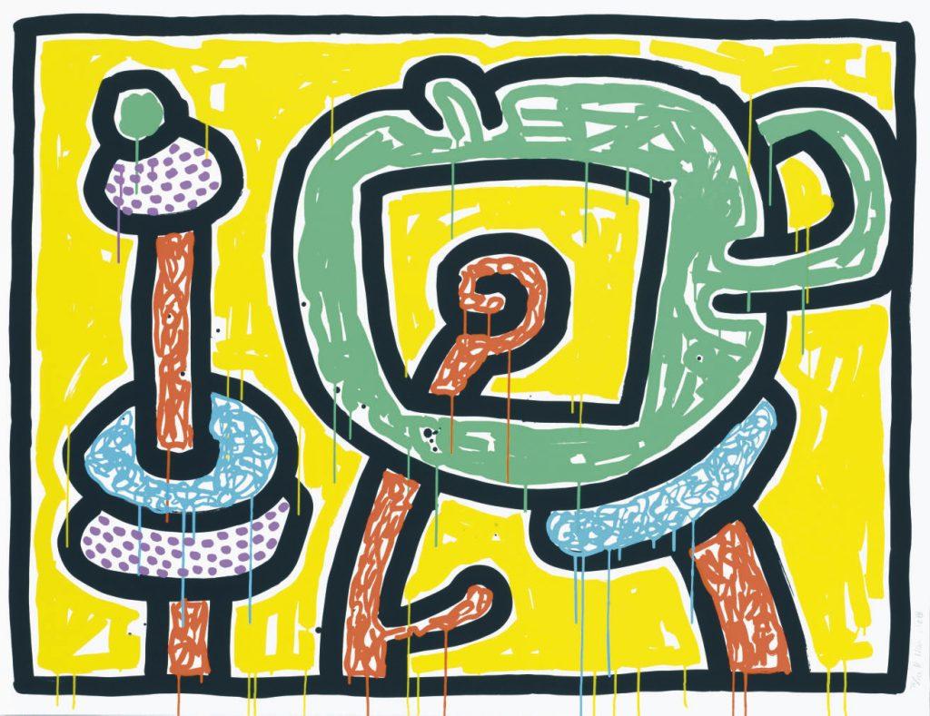 Keith Haring, Flowers III