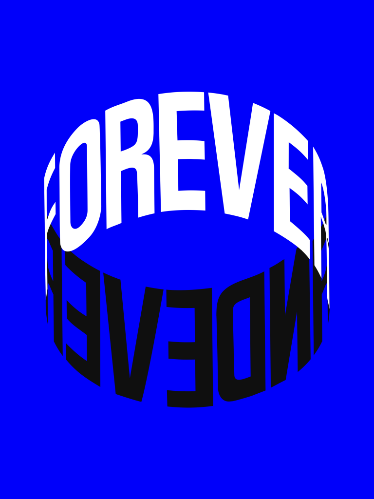 Ben Johnston, FOREVER AND EVER (Blue)