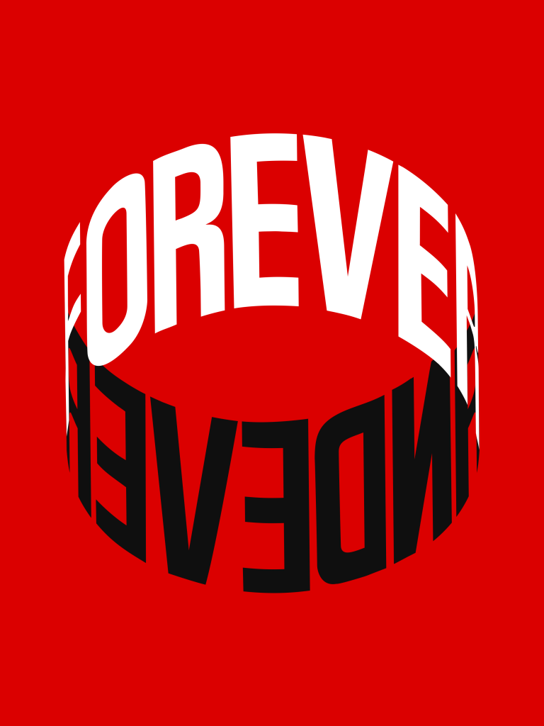 Ben Johnston, FOREVER AND EVER (Red)