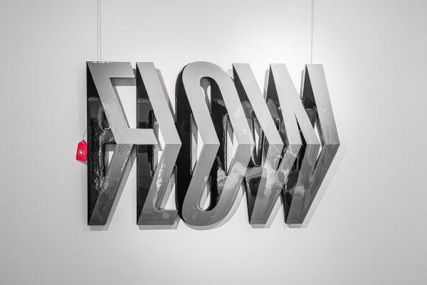 Taglialatella Galleries, Taglialatella Galleries - Toronto, Taglialatella Toronto, TAG, TAG Toronto, Ben Johnston, FOREVER FOREVER, Exhibition, Typography, FLOW