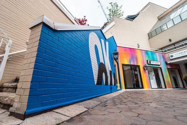Taglialatella Galleries, Taglialatella Galleries - Toronto, Taglialatella Toronto, TAG, TAG Toronto, Ben Johnston, FOREVER FOREVER, Exhibition, Typography, Yorkville Murals, Mural, OK
