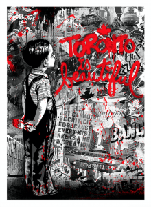 Mr. Brainwash, Toronto Is Beautiful, Red