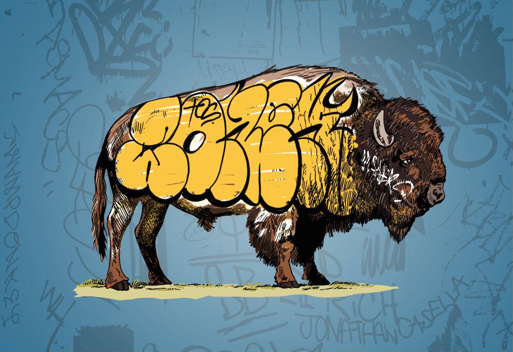 Whatisadam, Buffalo Graffiti II