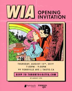 Invitation, Whatisadam, WIA, Seasonal, Exhibition