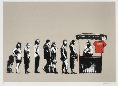 Banksy, Festival, 2006