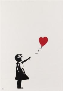 Banksy, Girl with Balloon, 2004