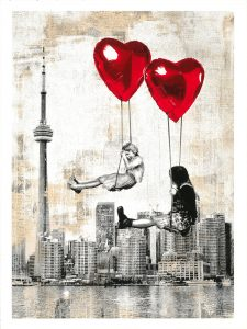 Mr. Brainwash, Love is in the Air, 2019