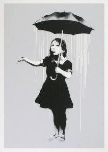 Banksy, Nola (White), 2008