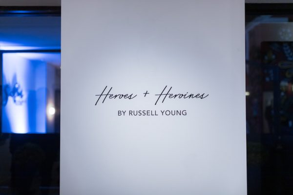 Exhibition, Russell Young, Heroes+Heroines, Tag TO
